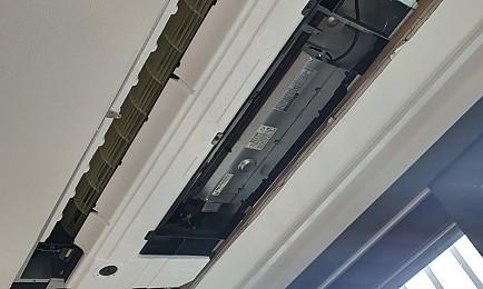 [에어컨청소] 벽걸이 에어컨 분해청소